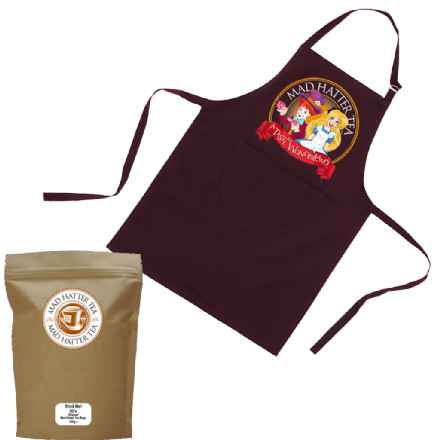 Alice's Apron & 80 Mad Hatter Teabags